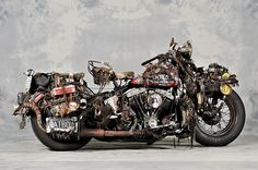 Blue Points Motorcycles - The Ultimate Rat Bike? #wtf ;)
