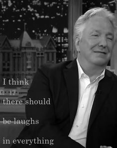 "Alan Sidney Patrick Rickman on ""The Tonight Show With Jimmy Fallon"" June 17…"