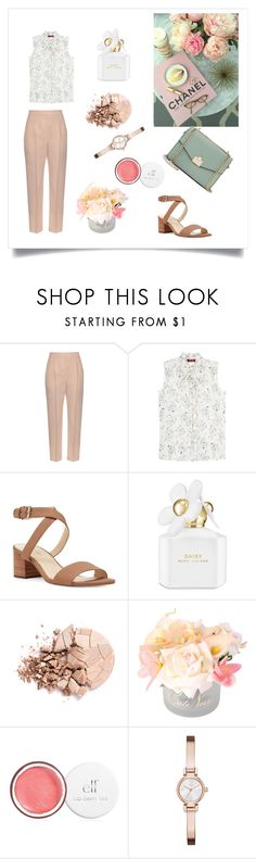 """""""Sophisticated"""" by emina-la ❤ liked on Polyvore featuring Alexander McQueen, MaxMara, Nine West, Marc Jacobs, Anastasia Beverly Hills, Côte Noire, DKNY and Jennifer Lopez"""