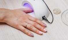lampa do paznokci hybrydowych #nails #naildesign