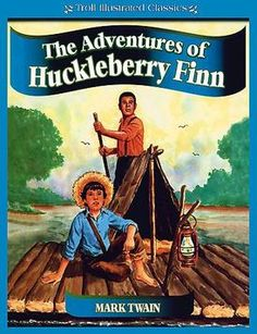 Relationship between geography and humor in Huck Finn?