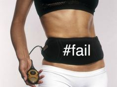 Is the Ab Shocker Belt the secret to getting six pack abs? Ha!