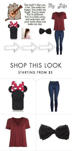"""My Life"" by mbailey4 ❤ liked on Polyvore featuring Kate Spade and Topshop"