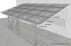 Plans for Solar Patio Covers