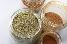 Spices in jar - Oregano