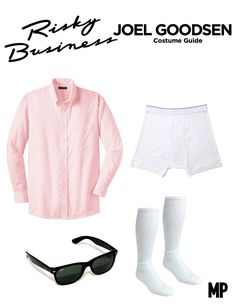 Risky Business Costume idea