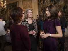 Crown Princess Mary of Denmark hosts a Christmas reception for her Mary Foundations 12/5/2013