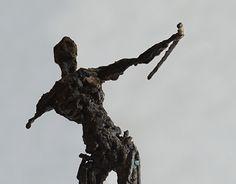The Hunter. Welded steel