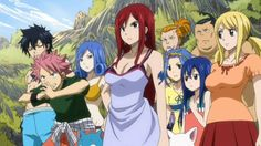 Lucy, Juvia, Levy, and Charles