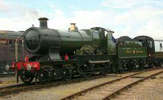 GWR city class  4-4-0 No 3717 'City of Truro' Steam Railway, British Rail, Truro, Great Western, Steam Engine, Steam Locomotive, Trains, Engineering, Steamers