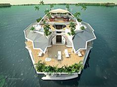 Une île verte