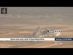 Syrian army town north of Hama Mards Brive