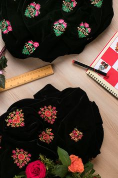 Buy Velvet Online I Embroidered Velvet I Wedding Fabrics Hand Embroidery, Embroidery Designs, Embroidery Stitches, Galaxy Fashion, Navratri Special, Work Sarees, Indian Fabric, Fancy Sarees