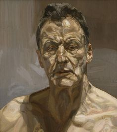 Lucian Freud, Reflection (Self-portrait) on ArtStack #lucian-freud #art
