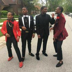 Boys prom red cute swag   Boy prom in 2019   Pinterest ...