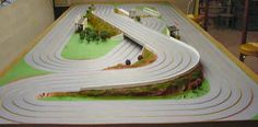 slot car wood track for sale photos - Google Search