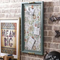 Turquoise Tray Photo Board Collage Frame | Kirklands