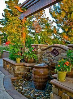 Идеи для оформления вашего дворика ~ Sweet home