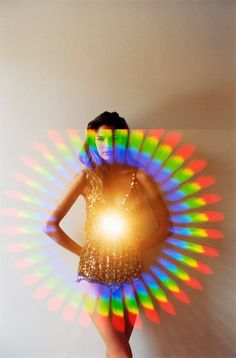 Diffraction in art and fashion