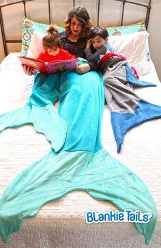 Toddler Mermaid Blanket by Blankie Tails - Blankie Tails - 7