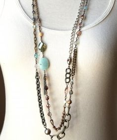 my newest favorite piece that goes with so much....Sheer Addiction Jewelry - Clare