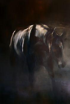 Maurizio L'Altrella (2014) Apparition: the Creature Oil on canvas Cm 150 x 100 Courtesy Glenda Cinquegrana: The Studio
