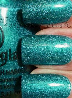 China Glaze - Techno Teal