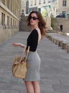 parisian chic.  understated femininity.