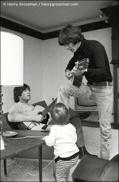 John and George - from the book 'Places I'll Remember' - photographs by Henry Grossman