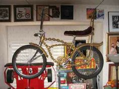 EDDIE MUNSTERS BIKE 1ST LOWRIDER BIKE EVER