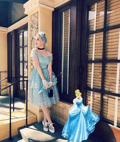 Disneybound, Cinderella, That Look, Disney Princess, Disney Characters, Instagram Posts, How To Wear, Clothes, Road Trip To Disney