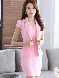 Ericdress Elegant Blazer Suit