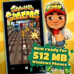 Games for Windows Phones with 512 MB RAM
