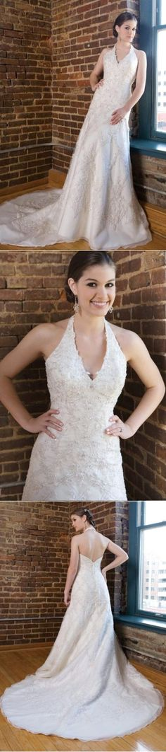 """Plus Size Designer Wedding Dresses With Fleshlight Sleeves Wedding Winter Dresses Pear Shaped Bridal Sleeveless Organza """"Attire With Regard To Big Event, Sash Pertaining To Custom Made Wedding Dress"""" Empire Waist V Back Crinkle Halter Neck Floor Length Dirndl Organza Bride Funky Antique Without Sleeves Halter Embroidered Trumpet Weddings Fall Dresses Summertime."""