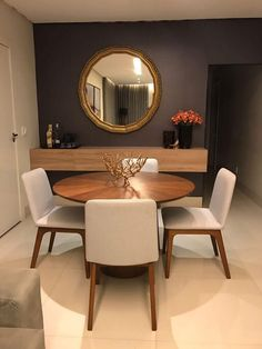 Pending how to plan the complete dining room? All the dining room remembered that you need to your interior design project are on this board. Get a look and let you inspiring! See more clicking on the image. Dining Room Colors, Dining Room Design, Dining Rooms, Dining Table, Dining Room Inspiration, Home Decor Inspiration, Interior Design Living Room, Living Room Decor, Interior Decorating