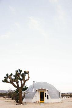The Dome in the Desert in Joshua Tree, California.