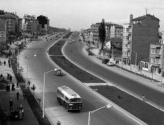 1960'larda Henüz nüfus artışından nasibini almamış olan Fındıkzade...