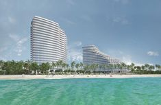 Condos For Rent, Condos For Sale, Rem Koolhaas, Miami Architecture, Zaha Hadid, North Tower, Fort Lauderdale Beach, Facade Design, Los Angeles California