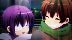 Anime Wallpaper 1366x768 Chuunibyou demo Koi ga Shitai! Takanashi Rikka, Togashi Yuuta
