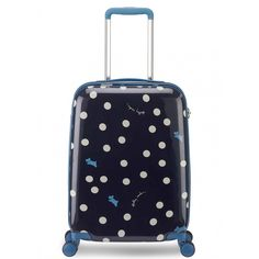 Cabin size hard shell suitcase that has an elegant tapered design for all your packing needs.