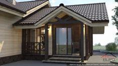 Архитектурный проект небольшой бани – arch-buro.com Design Case, Modern Exterior, Gazebo, House Plans, Outdoor Structures, House Design, Modern Homes, Blue Prints, Kiosk