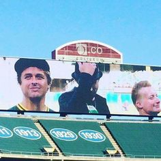 Baseball and....Green Day...yes, please.