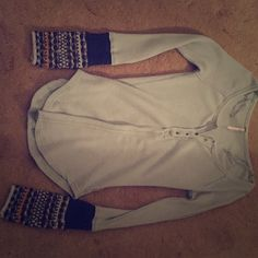 Free people long sleeve shirt Worn once, in great condition, and just came out Free People Tops Tees - Long Sleeve
