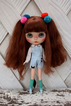 My Custom Commissions Blythe Doll. | Flickr - Photo Sharing!