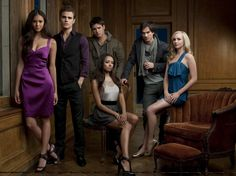 Am not sure if the picture is nice or i just love the cast for Vampire Diaries