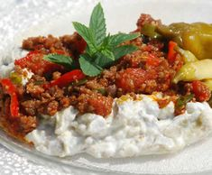 Turkish Recipes, Ethnic Recipes, Turkish Kitchen, Ground Meat Recipes, Recipe Mix, Thanksgiving 2020, Dessert Drinks, Soup And Salad, Good Food