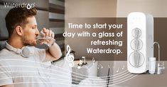 Waterdrop was founded in 2015 with the wish to provide trustworthy water purification solutions to solve such problems. #water #waterquality #waterdrop #health #waterhealth #healthy #healthylife Reverse Osmosis Water, Healthy Facts, Water Filtration System, Water Purification, Water Quality, Water Drops, Water Filter, Filters, Day