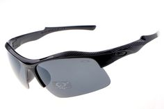 36433cfe6cb4c Oakley Flak Jacket Semi-Rimless Black DIF Cool Sunglasses