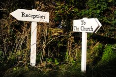 Directions to the reception and the church. Find out more about our wedding photography at www.littlephotocompany.co.uk