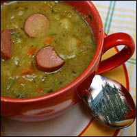 Snert or erwtensoep is Dutch pea soup:  http://en.wikipedia.org/wiki/Pea_soup#Netherlands